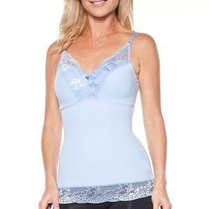 Rhonda Shear Lace-Trim Pin-Up Camisole